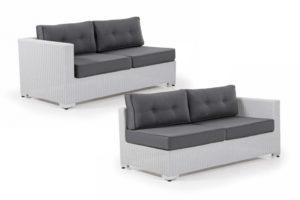 "Диван из ротанга ""Louisiana"" Окончание - модули составного плетеного дивана. Производитель Brafabrika."