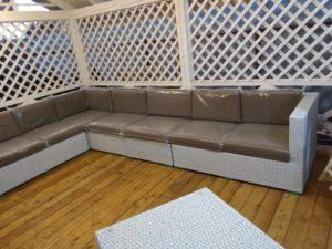 Фото - Модульный плетеный диван Louisiana