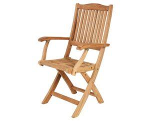 "Фото - Кресло садовое из тика ""Filippa"" Brafab"
