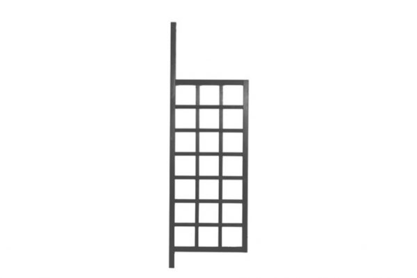 """""""Боковые решетки для павильона """"Hov"""" brown"""""""
