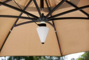 """Фото - Лампа подсветки для садового зонта """