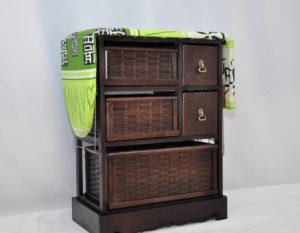 Шкафы и комоды из ротанга