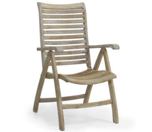 "Фото - Кресло садовое из тика ""Karlo"" позиционное Brafab"