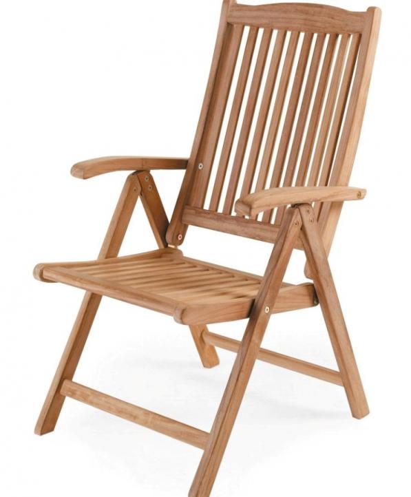 Кресло садовое из тика Veronica Brafab