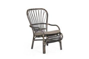 """Фото - """"Кресло из ротанга """"Aldorassa"""" серый цвет / Швеция"""""""