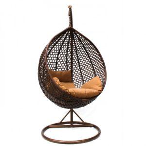 """""""Фото - Подвесное кресло MALTA средняя чаша подвесная из ротанга"""""""