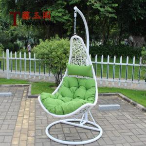 """""""Фото - Подвесное кресло Wind ротанг белого цвета"""""""
