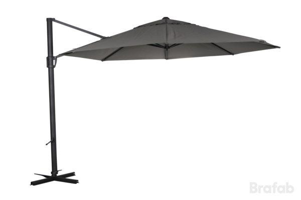 """Садовый зонт fiesole серый цвет"""