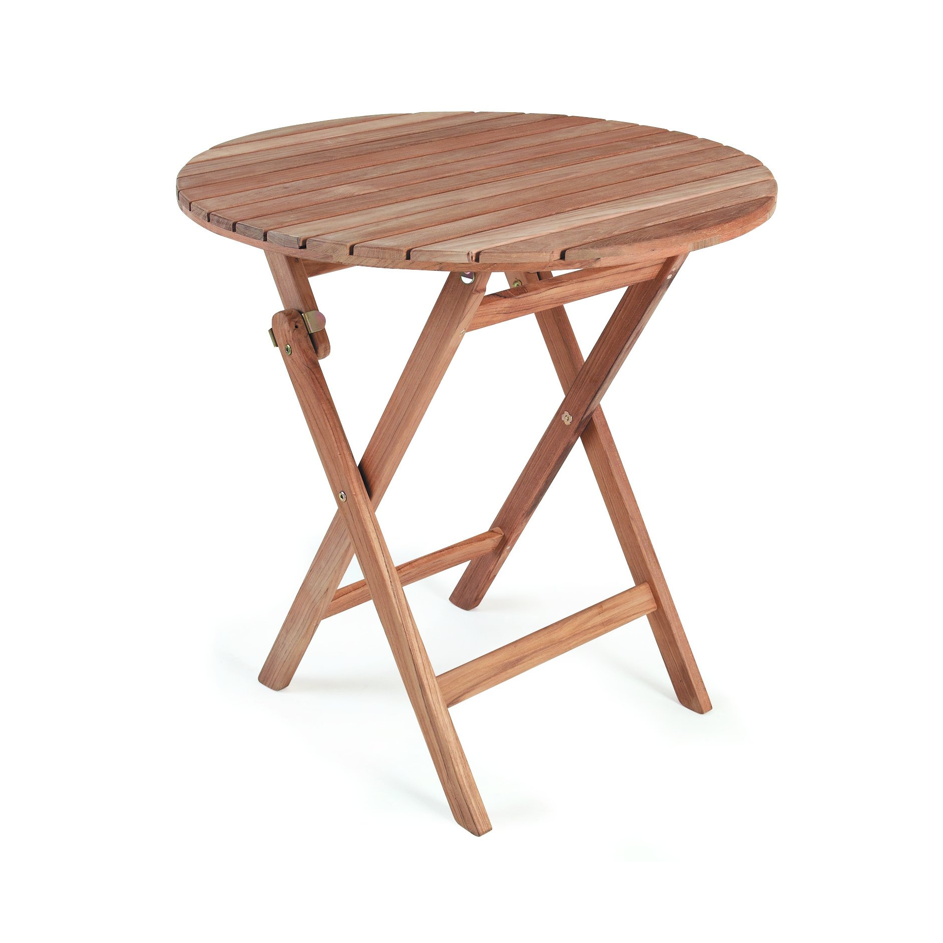 "Стол из тика ""nova"" d70 обеденный brafab швеция brafabrika."