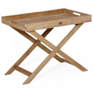 Фото - Стол садовый из тика Turin сервировочный Brafab