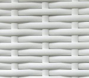 Ротанг искусственный белый гладкий