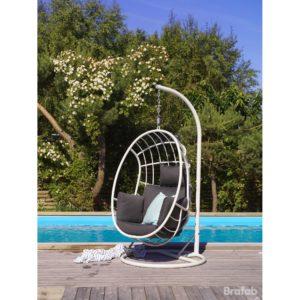 Фото -Плетеное подвесное кресло Palo Швеция Brafab