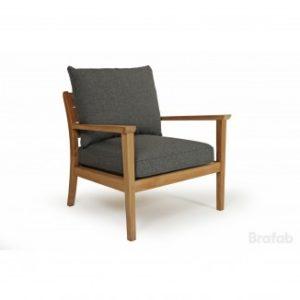 "Фото - Кресло садовое из тика ""Chios"" Brafab"
