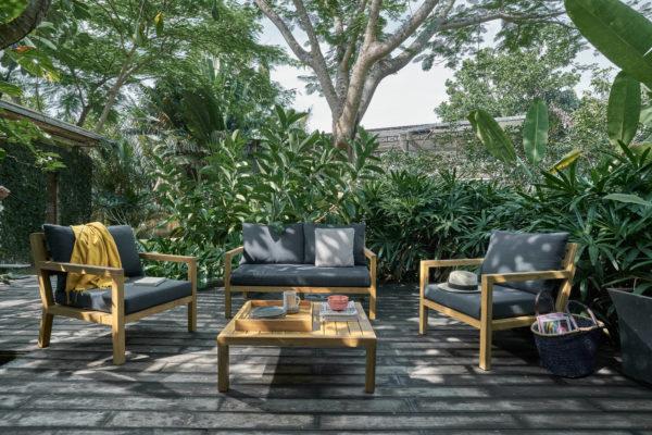 фото- BRIGHTON садовая мебель из акации