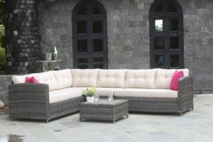 Плетеная мебель Palermo - модульные диваны на веранду