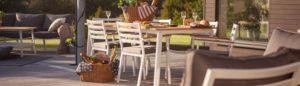 Фото - Садовая мебель обеденная группа Olivet Brafab