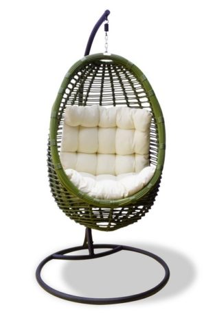 """Плетеное подвесное кресло BAMBOO - картинка"""