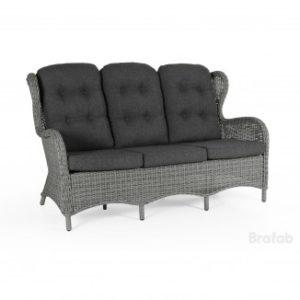 """Фото - """"Подушка на кресло """"Evita""""grey. Цвет - антрацит. Отличная подушка на сидение и под спину для кресла""""Evita"""" в сером цветовом решение. Производитель Brafab. EVITA ПОДУШКА НА софуEvita серый цвет. Артикул: 303-73"""""""