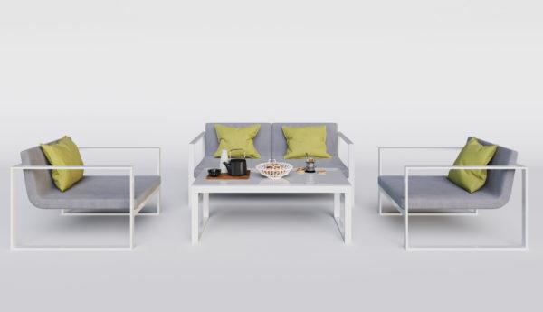 Delizia садовая алюминиевая мебель Gardenini