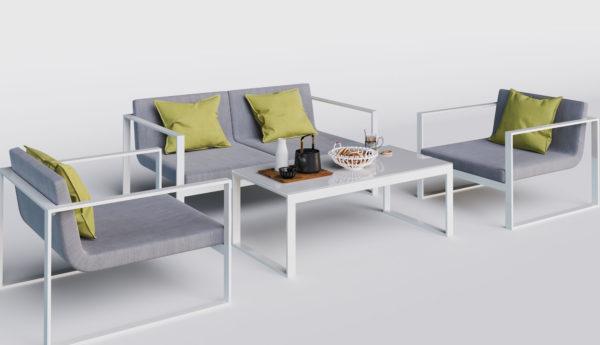 Delizia уличная алюминиевая мебель