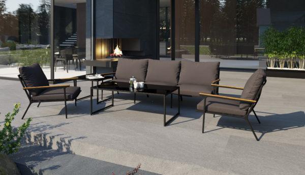 Садовая мебель Calma Lounge anthracite
