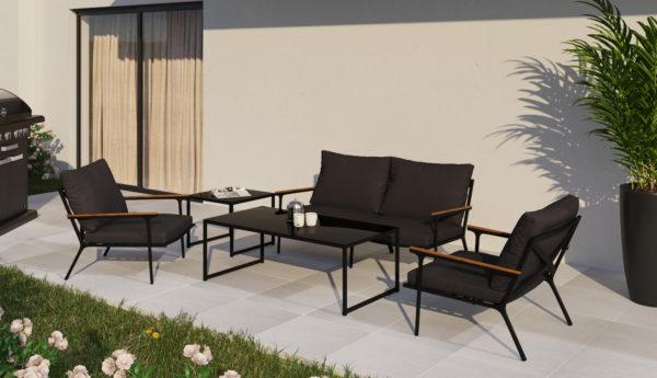 Садовая мебель Calma anthracite