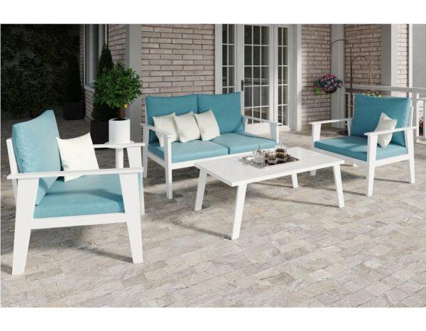 Фото - Садовая мебель из алюминия Riposo - кофейный комплект садовой мебели лаунж.