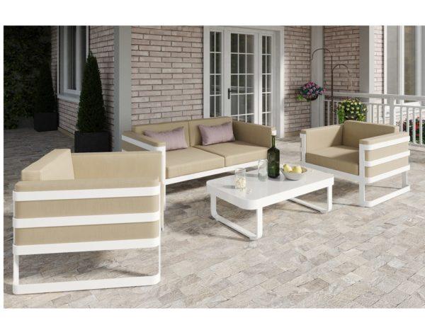 Фото - Садовая мебель из алюминия «Primavera».