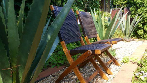 Фото -Стулья садовые плетеные Ever- ton brown