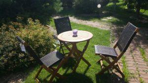 Фото -Плетеная мебель Ever ton brown 3 персоны столовая группа / Brafabrika