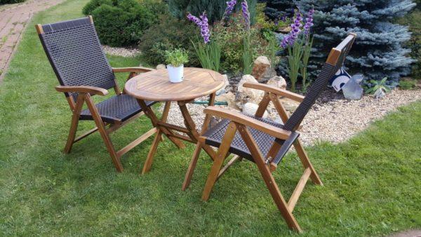 Фото -Ever-ton brown набор мебели ротанг