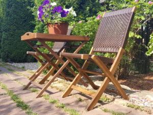 """Фото -Плетеная мебель """"Ever ton rustic"""" Chair Tea Set"""