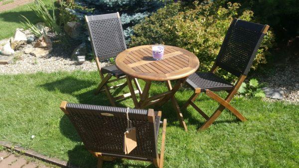 Фото -Набор садовой мебели из ротанга Ever-ton brown 3 персоны Brafabrika Brafab