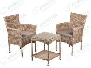 Фото -Плетеная мебель Capri&Howard Azzura кофейная группа мебели