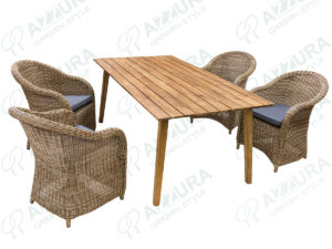 "Фото -Плетеная мебель ""Coventry + Andorra"" Azzura Голландия"