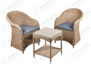 Фото -Плетеная мебель Coventry&Howard Cofe Set Azzura