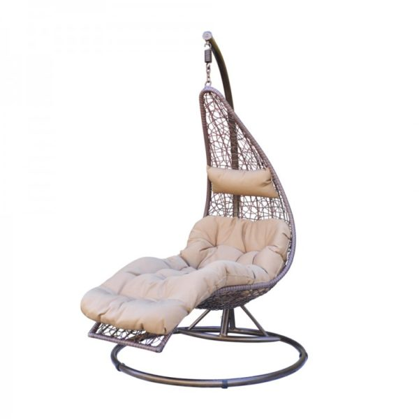 Фото -Подвесное кресло из ротанга Abierto KM 1025