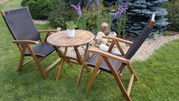 Фото -Садовая мебель ротанг Ever-ton brown