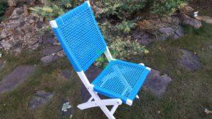 Фото - Brafabrika Плетеный стул Dream blue