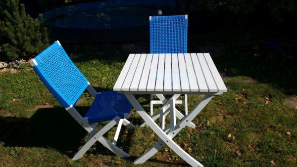 """Фото -Плетеная мебель """"Arizona Dream"""" blue 4 персоны"""