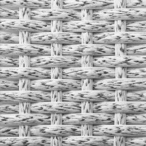 Фото-Искусственный ротанг белый древесный