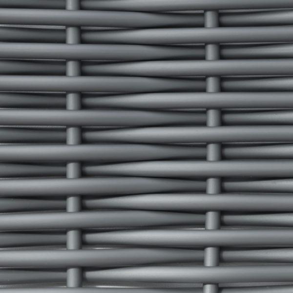 Фото - Искусственный ротанг серый круглый