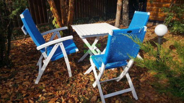 Фото - Комплект из искусственного ротанга Brafabrika Arizona Dream blue