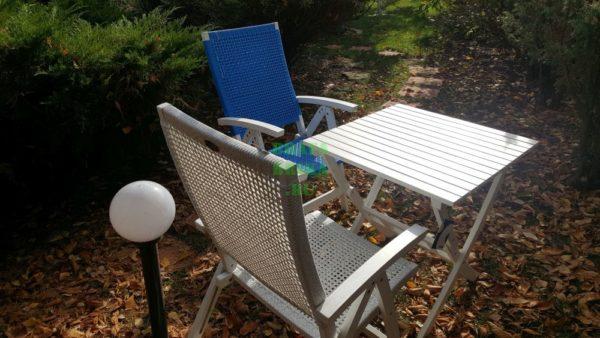 Фото - Мебель из искусственного ротанга Brafab Arizona Dream white&blue
