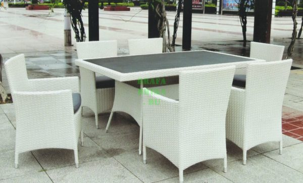 Фото - Плетеная мебель Nina & Samurai white