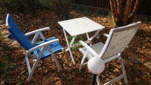 Фото - Плетеная мебель обеденная Arizona Dream white&blue