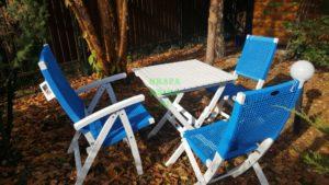Фото - Садовая мебель из искусственного ротанга Brafabrika Arizona Dream blue