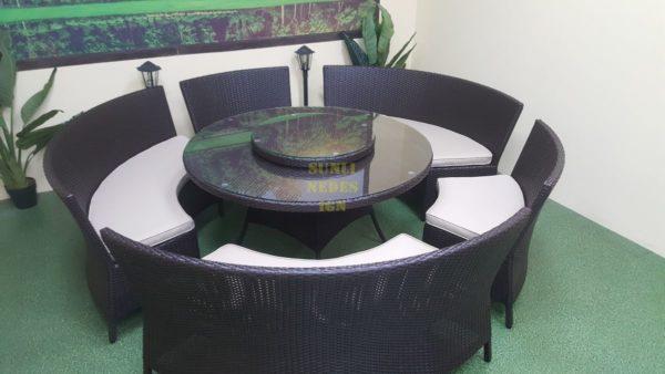 China Обеденная мебель из искусственного ротанга