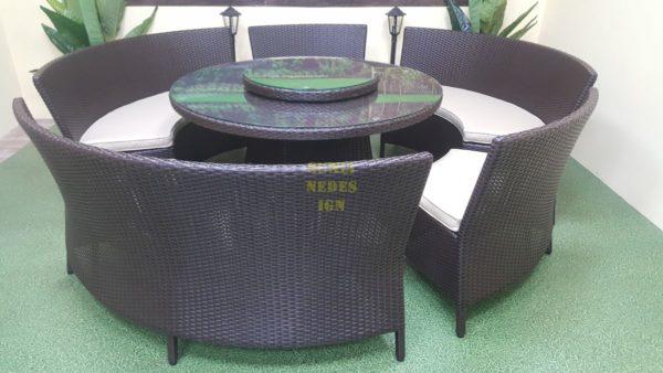 China столовая мебель ротанг