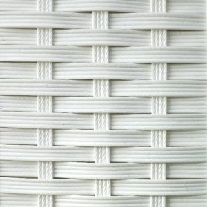 Фото - Искусственный ротанг белый текстура полоска
